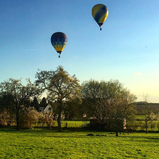Balloons Over Clent