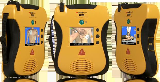 Lifeline VIEW AED Defibrillator