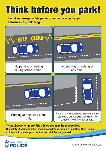 Parking Advice Notice